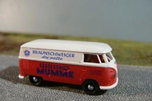 【送料無料】模型車 モデルカー スポーツカー #ブラウンシュヴァイクボックス187 brekina 0743 vw t1 b mumme braunschweig kasten