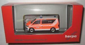 【送料無料】模型車 モデルカー スポーツカー バスウィンドウオッフェンバックホherpa 093415 vw t6 fensterbus malteser hilfsdienst enbach 187 ho