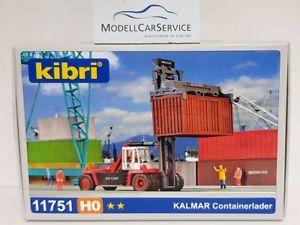 【送料無料】模型車 モデルカー スポーツカー kibri h0 11751 kalmar containerlader bausatz