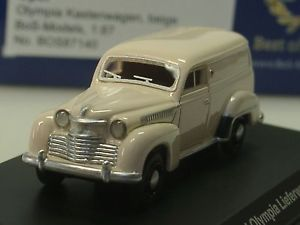 【送料無料】模型車 モデルカー スポーツカー ボスヴァンオペルオリンピアベージュbos opel olympia kastenwagen, beige 87140 187