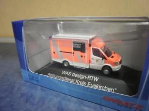 【送料無料】模型車 モデルカー スポーツカー スプリンターレスキューサービスrietze mb sprinter was ambulanz designrtw rettungsdienst kreis euskirchen