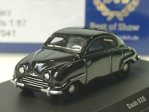 【送料無料】模型車 モデルカー スポーツカー ボスサーブブラックbos saab 92b, schwarz 87041 187
