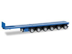 【送料無料】模型車 モデルカー スポーツカー トラックトレーラートレーラーherpa 076715002 h0 lkw anhnger nooteboom ballasttrailer 6achs