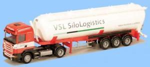 【送料無料】模型車 モデルカー スポーツカー トラックスカニアサイロサイロawm lkw scania r highl kippsilosz vsl silo logistics