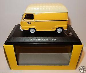 【送料無料】模型車 モデルカー スポーツカー ボックスルノーnorev renault estafette r2132 1962 postes poste ptt 143 in luxe box