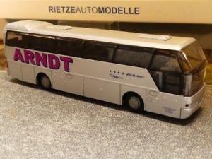 【送料無料】模型車 モデルカー スポーツカー ビーレフェルト187 rietze neoplan cityliner arndt bielefeld 65003