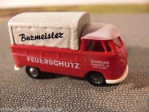 【送料無料】模型車 モデルカー スポーツカー #モデル187 brekina 0563 vw t1 prpl burmeister feuerschutz sondermodell