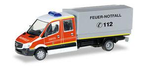 【送料無料】模型車 モデルカー スポーツカー トラックメルセデスベンツスプリンターデュッセルドルフherpa 092791 h0 lkw mercedesbenz sprinter mzf feuerwehr dsseldorf