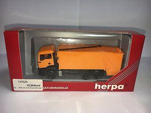 【送料無料】模型車 モデルカー スポーツカー ゴミherpa 187 147620 man tga m pressmllwagen ovp st2257