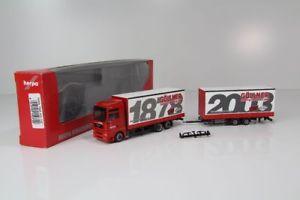 【送料無料】模型車 モデルカー スポーツカー ジャンボトレーラーherpa man tga jumbohngerzug 125 jahre spedition gllner nr 150729 h8111