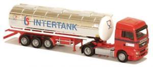 【送料無料】模型車 モデルカー スポーツカー トラックタンクインタフューエルタンクawm lkw man tgx xlx htanksz intertank