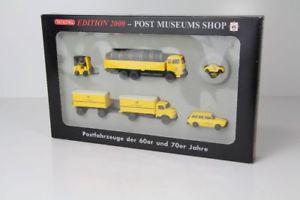 【送料無料】模型車 モデルカー スポーツカー エディションセットwiking set postmuseumsshop edition 2000 deutsche bundespost nr 8004 wi183
