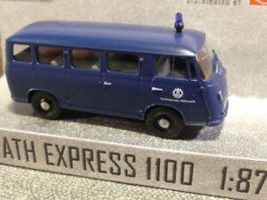 【送料無料】模型車 モデルカー スポーツカー ブッシュエクスプレス187 busch dreika goliath express 1100 thw 94126