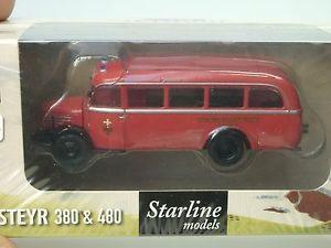【送料無料】模型車 モデルカー スポーツカー オーストリアウィーンbrekina steyr 380ii stadtwerke wien austria 58007 187