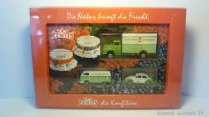 【送料無料】模型車 モデルカー スポーツカー ##brekina werbeset 187 3 tlg zentis marmelade in ovp 25269