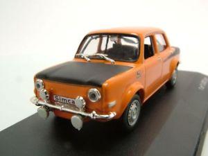 【送料無料】模型車 モデルカー スポーツカー ラリーオレンジモデルカーホワイトボックスsimca rallye 2 1976 orange, modellauto 143 whitebox