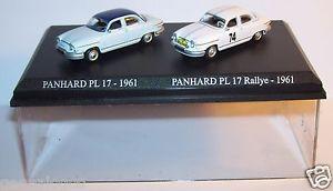 【送料無料】模型車 モデルカー スポーツカー アトラスメタルラリーホcret atlas duo 2 metal uh panhard pl17 1961 pl 17 rallye n74 1961 ho 187
