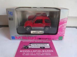 【送料無料】模型車 モデルカー スポーツカー パジェロミニレッド143 mtech mitsubishi pajero mini rot mm02a