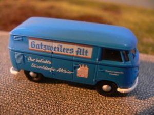 【送料無料】模型車 モデルカー スポーツカー #ボックスハムレット187 brekina 0443 vw t1 b kasten gatzweilers alt