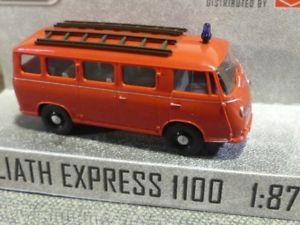 【送料無料】模型車 モデルカー スポーツカー ブッシュエクスプレス187 busch dreika goliath express 1100 feuerwehr 94123