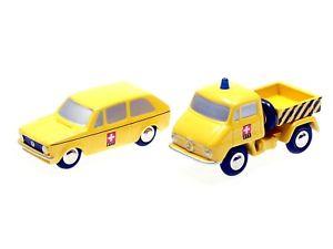 【送料無料】模型車 モデルカー スポーツカー ピッコロスイスポストゴルフセットメルセデスschuco piccolo set ptt 1 schweizer post vw golf i mercedes unimog 50171048