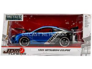 【送料無料】模型車 モデルカー スポーツカー エクリプスチューナーjada toys 124 mitsubishi eclipse jdm tuners 1995 99103bl
