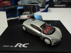 【送料無料】模型車 モデルカー スポーツカー プジョーコンセプトカーシルバーnorev 143 peugeot rc concept car silver