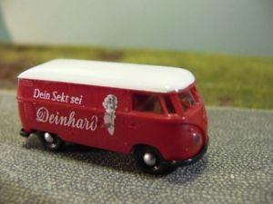 【送料無料】模型車 モデルカー スポーツカー #ハードボックス187 brekina 0423 vw t1 b deinhard kasten