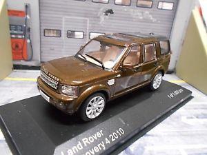 【送料無料】模型車 モデルカー スポーツカー レンジローバーディスカバリーブラウンブラウンネットワークホワイトボックスrange rover discovery 4 iv 4x4 suv braun brown met 2010 ixo white box 143