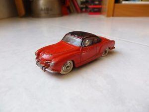 【送料無料】模型車 モデルカー スポーツカー フォルクスワーゲンカブリオレタイプギアクーペミニチュアvolkswagen coupe karmann ghia 24m dinky toys meccano 143 jouet miniature ancien