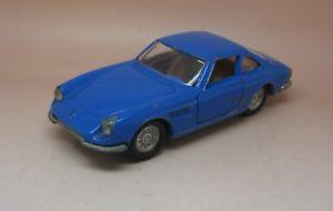 【送料無料】模型車 モデルカー スポーツカー フェラーリボンpolitoys export ferrari 330gtc bleu rf 562 bon etat dorigine