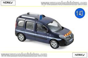 【送料無料】模型車 モデルカー スポーツカー ルノーカングーエシェルrenault kangoo 2013 gendarmerie outremer norev no 511325 echelle 143