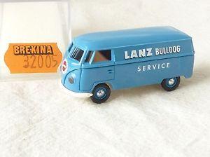 【送料無料】模型車 モデルカー スポーツカー フォルクスワーゲンファイルブルドッグサービス10604 brekina 327 volkswagen bulli t1a lanz bulldog service