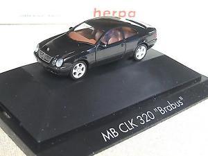 【送料無料】模型車 モデルカー スポーツカー オーシャンビューherpa mb brabus 320 clk brabus 101103 ov