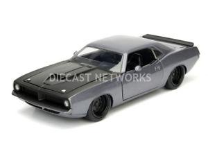 【送料無料】模型車 モデルカー スポーツカー プリマスバーダjada toys 124 plymouth barracuda 1973 98235s