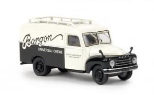 【送料無料】模型車 モデルカー スポーツカー brekina hanomag l 28 kasten borgon 58161