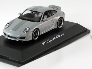 【送料無料】模型車 モデルカー スポーツカー ポルシェスポーツクラシックライトグレー143 schuco porsche 911 997 sport classic 2010 lightgrey
