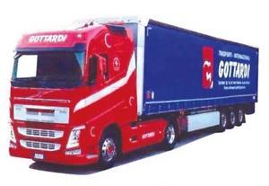 Ga-KSZ Kay Schultz Spedition 306980 Herpa LKW Volvo FH4 Glob//Aerop