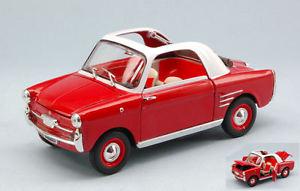 【送料無料】模型車 モデルカー スポーツカー モデルautobianchi bianchina trasformabile 1958 red white 124 model editoria, パソ電通信 【】:d38d2a24 --- idelivr.ai