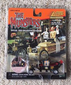 正規 【送料無料】模型車 モデルカー スポーツカー ジョニーハロウィーンニンjohnny lightning munsters koach halloween edition 164 frightning 1999 1 10000, タングーンShop d85f9768