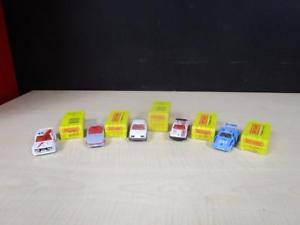 【送料無料】模型車 モデルカー スポーツカー vintage matchbox 1983 lot of 5 in the boxes mib