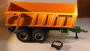 【送料無料】模型車 モデルカー スポーツカー トレーラバッテリー6780 siku control 132 joskin anhnger, kipper, transport  mit akku