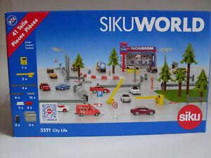 【送料無料】模型車 モデルカー スポーツカー siku world city life 41 pezzi art 5591
