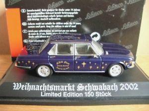 【送料無料】模型車 モデルカー スポーツカー schwabach クラシッククリスマスマーケットschuco classic bmw 2500 weihnachtsmarkt モデルカー bmw schwabach 2002, ショウナイチョウ:4715d959 --- osglrugby-veterans.com