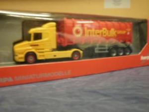 【送料無料】模型車 モデルカー スポーツカー トラックバルクherpa lkw scania hauber aerop bulkcontsz boere ibc interbulk 305273