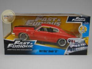 【送料無料】模型車 モデルカー スポーツカー シボレーレッドハットシリーズchevrolet chevelle 1970 red fast amp; furious series jada toys 124 ja97193re