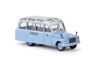 【送料無料】模型車 モデルカー スポーツカー バスbrekina 58185 187 hanomag l 28 lohner bus bb neu