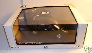 【送料無料】模型車 モデルカー スポーツカー ヌフプジョーボックスヌフneuf norev peugeot 807 verte 143 in box neuf ref 478702