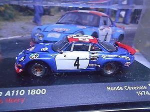 【送料無料】模型車 モデルカー スポーツカー ルノーアルパインラリーロンド#ヘンリーネットワークrenault alpine a110 rallye 1800 ronde cevenole 1974 4 henry es ixo altaya 143