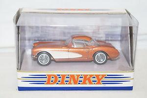 【送料無料】模型車 モデルカー スポーツカー コレクションシボレーコルベットマッチdinky collection dy23 b chevrolet corvette 1956 bronze 143 matchbox